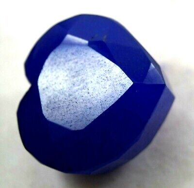GGL Certified 190 Ct Natural Beautiful Heart Shape Blue Sapphire Gemstone