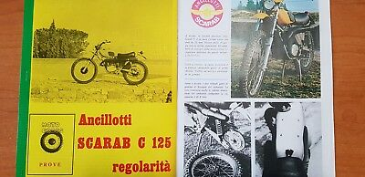 Copia Prova Motocross 1972 Dell' Ancillotti C 125 Regolarita' - Epoca -