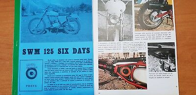 Copia Prova Motocross 1972 Dell' Swm 125 Six Days Regolarita' - Epoca -