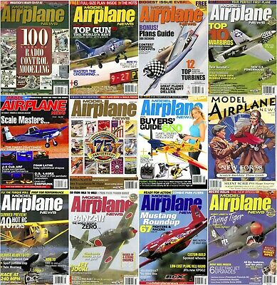 Model Airplane News Magazine's 1986-2005 *COMPLETE RUN* (3 DVD's) + Extras Pdf's