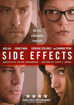 Side Effects (Blu-ray/DVD, 2013, 2-Disc Set) Brand New  W/Slipcover