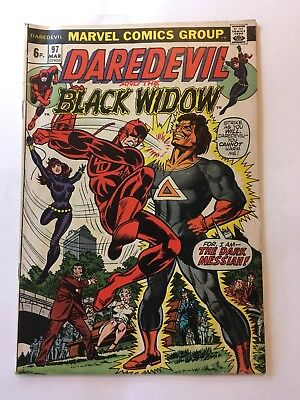 Marvel Comics Daredevil And Black Widow No. 97 #97 1973