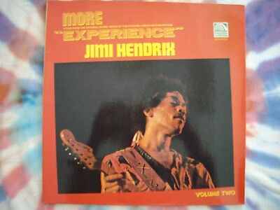 """Jimi Hendrix - """"Experience"""" & """"More Experience"""" Soundtrack LP's ~ FRENCH IMPORTS"""