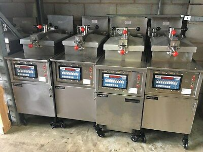 HENNY PENNY - 4 HEAD GAS CHICKEN FRYER - FREE UK Delivery