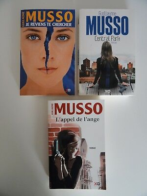 Lot de 3 livres Guillaume Musso - XO Editions Gd Format (Lot / qté modifiable).