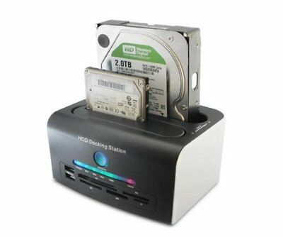 USB 3.0 Hard Drives External Docking Station Support Online and Offline Clone