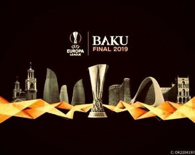 3 Karten UEFA Europa League Finale: Chelsea - Arsenal in Baku (29.05.19), Kat. 4