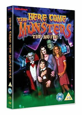 Here Come The Munsters (DVD, 1995) *NEW/SEALED* 5030697031785, FREE P&P