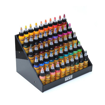 HOLDER INKS - TATTOO INK BOTTLE DISPLAY HOLDER ORGANISER STAND - up to 50 inks