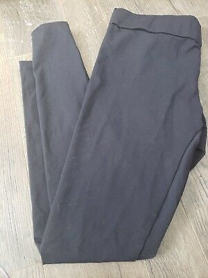 d3b640e513c5ef Matty M. Thick Material Leggings with Wide Elastic Band Gray Size XL euc