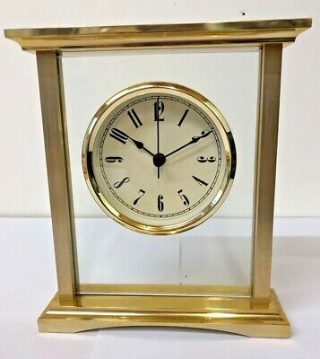 Gold Plated Mantel Clock