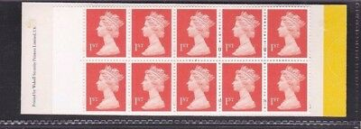 1998 Barcode booklet HD44b. Not valid for Europe. Walsall.