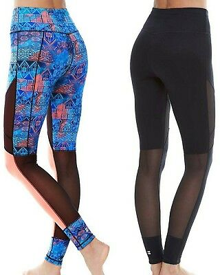 Sweaty Betty Urdhva Reversible Leggings size  S Short leg Lenght EB868-B1