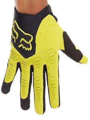 Guantes MX Fox 2018 Pawtector Dark Amarillo