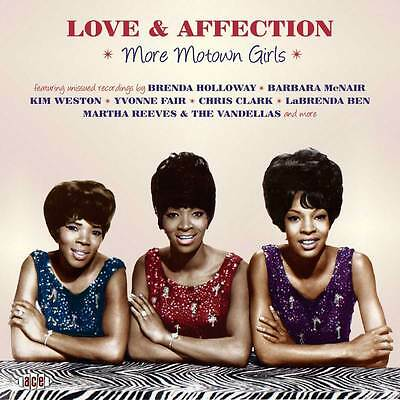 Various Artists - Love & Affection: More Motown Girls (CDTOP 1455)