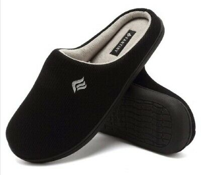 Men's 20 Memory Foam Comfort Slip On Slipper Father's Day Present! Sizes M - XL