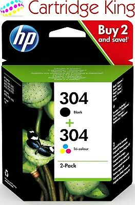 Genuine HP 304 Combi pack - 304 colour and 304 black std.