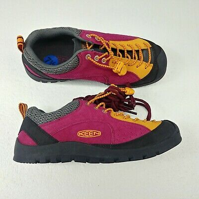 007bd1cbd78 Keen Jasper Rocks SP-W Hiking Shoes 1018900 Pink Black Orange Womens Size  7.5 W