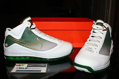42e52a813ac5 Deadstock Nike Lebron 7 VII SVSM PE Player Exclusive Sample Irish Size 10.5