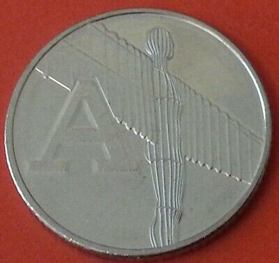 NEW A-Z 2019 ALPHABET 10p COIN HUNT- LETTER A - Angel of North  UNCIRCULATED
