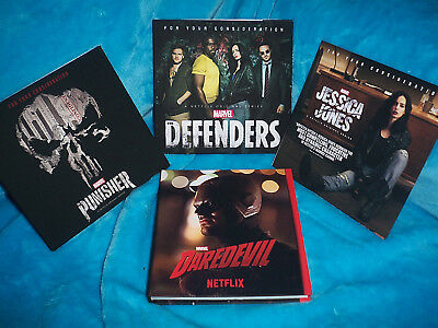 Marvel DareDevil Full Season 2+Defenders+Jessica Jones+Punisher-NETFLIX Emmy Set