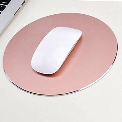 Tappetino per mouse aluminum mouse pad. Superficie antiscivolo in le(rose gold)