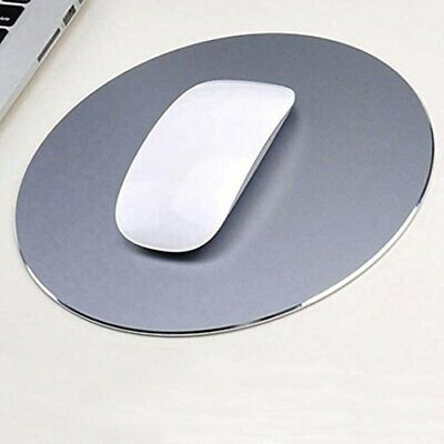 Tappetino per mouse aluminum mouse pad. Superficie antiscivolo in(Fashion Grey)