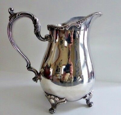 "Webster Wilcox Silver Pitcher ""Rochelle"" IS International Silver Co."