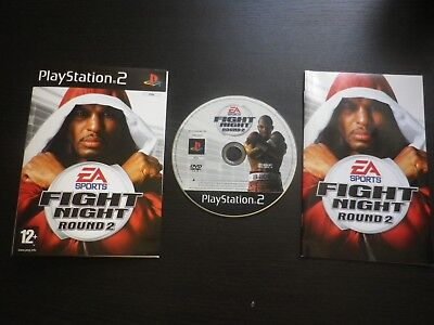 JEU Sony PLAYSTATION 2 PS2 : FIGHT NIGHT ROUND 2 (boxe COMPLET envoi suivi PAL)