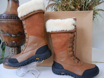 ad21d101288 UGG ADIRONDACK TALL 5498 Winter Boots Waterproof Brown Leather Us ...