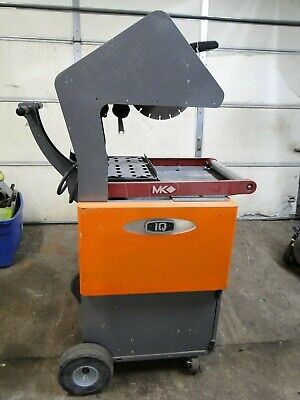 iQ iQ1000 Portable Dust Collector w/MK BX3 DRY DIAMOND BRICK STONE PAVER SAW