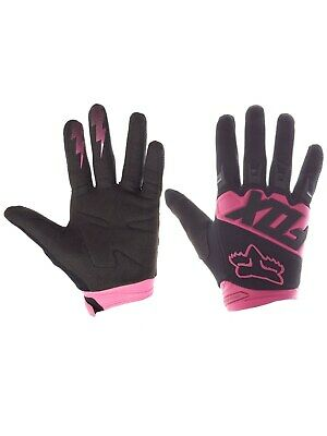 Guantes MX Fox 2018 Dirtpaw Race Negro-rosado