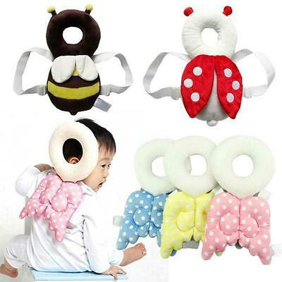 Baby Head Protection Pad Toddler Headrest Pillow Creative Neck Wing Nursing Drop