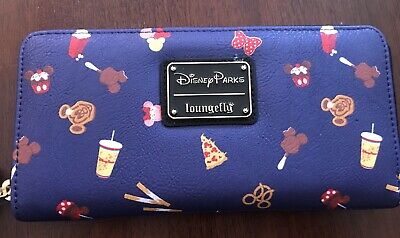 Disney Parks Loungefly Snack&Treats Wallet - Nwt
