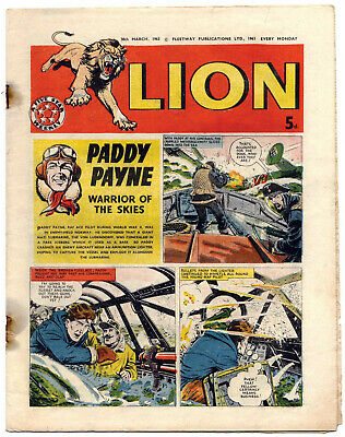 Lion 30th March 1963 (high grade) Captain Condor, Don Lawrence's Karl the Viking