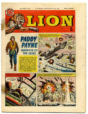 Lion 16th March 1963 (high grade) Captain Condor, Don Lawrence's Karl the Viking