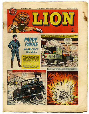 Lion 9th March 1963 (high grade) Captain Condor, Don Lawrence's Karl the Viking