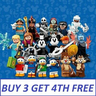Genuine Lego Disney Series 2 Minifigures 71024 Pick Your Own Figure Fast Posting