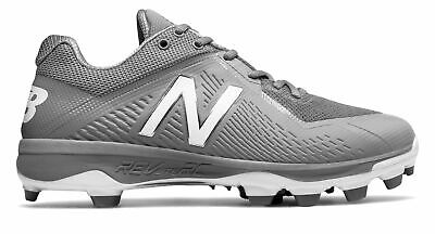 New Balance Low-Cut 4040v4 TPU Baseball Cleat Mens Shoes Grey