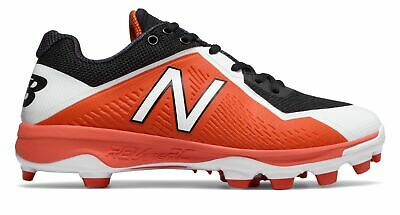 New Balance Low-Cut 4040v4 TPU Baseball Cleat Mens Shoes Orange with Black Size