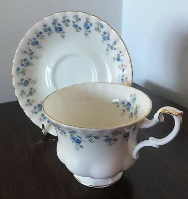 Royal Albert Memory Lane Cup And Saucer First Quality