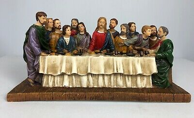 """Youngs Incorporated 13.5"""" Large Last Supper Home Decor Figurine"""