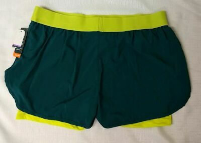 b72ca3e9be735 NWT MTA Sport Womens XL, 1X, 3X Athletic Stretch Compression Shorts Running  Bike