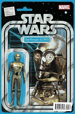 Marvel Comics STAR WARS #5 John Tyler Christopher Figure Variant VF/NM (2015)
