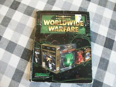 Command & Conquer: Worldwide Warfare - PC  7 CD's  (missing 1 allied disc)