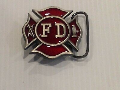 Fire department belt buckle .vintage 1979. New old stock