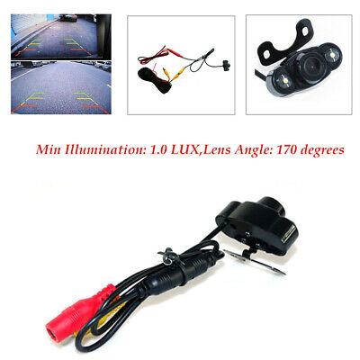 170 degrees Color CCD Car Rear View Reverse Backup Wired Camera Night Vision
