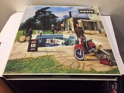 OASIS Mega-Rare Be Here Now Mexican Boxset CD+Cassette+VHS 1997 PROMO