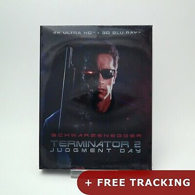 Terminator 2: Judgment Day - 4K UHD & 3D Blu-ray Full Slip Edition (2019) / NOVA