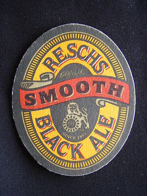 Reschs Smooth Black Ale Since 1897 Coaster